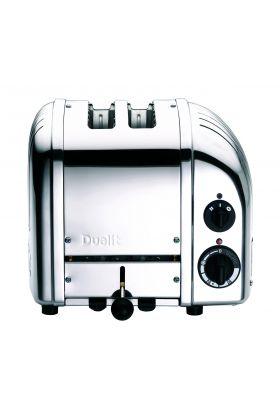 Toaster, New Gen 2 skiver, krom