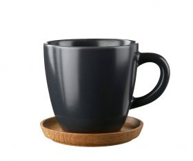 Höganäs kaffekopp grafittgrå 33 cl
