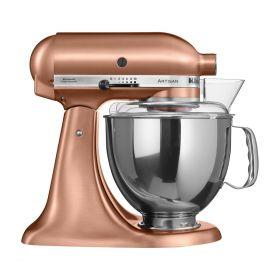 Kitchenaid Artisan kjøkkenmaskin 4,8 L + 3 L satin copper, 300 watt