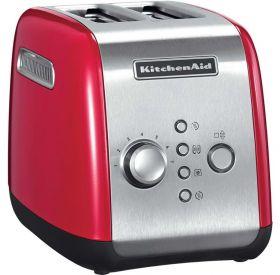 Kitchenaid brødrister 2 skiver rød 1100 watt