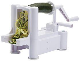KitchenCraft Grønnsakskutter spiromat m/3 blader