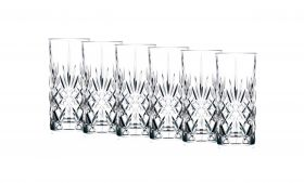 Lyngby Melodia Highball/Longdrink glass 36 cl 6stk