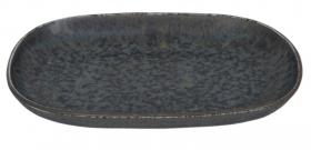 Onyx tallerken lengde 19x13 cm