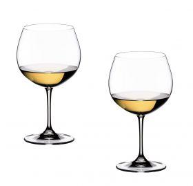 Riedel Vinum Chardonnay hvitvinsglass 60 cl 2pk