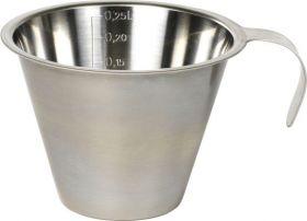 Funktion Målebeger rustfritt stål 250 ml