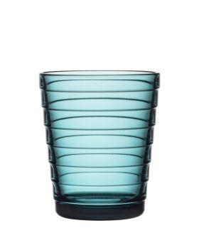 iittala Aino Aalto glass sjøblå 22cl