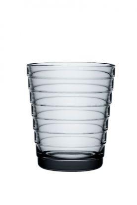Iittala Aino Aalto vannglass Grå 22cl