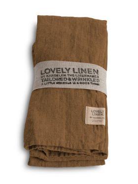 LOVELY LINEN SERVIETT ALMOND 45X45 C