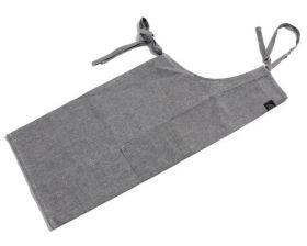 Pillivuyt forkle grå 95x70 til 80 cm