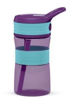 Boddles drikkeflaske 0,4L turkis/lila