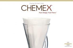 Chemex filter for 3 kopper/100 stk