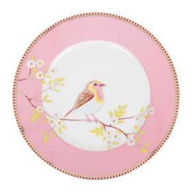 Early bird asjett rosa Ø21 cm