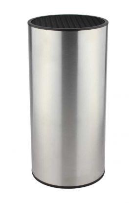 Grunwerg knivblokk rustfritt stål høyde 21 cm