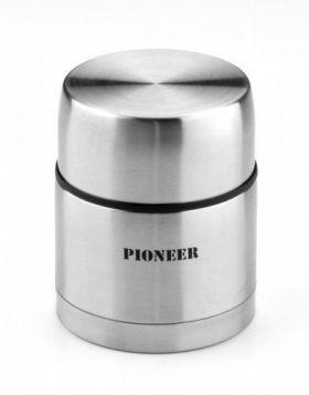 Pioneer Mattermos dobble vegger stålfarget 0,5 l