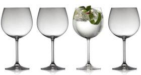 LYNGBY GIN & TONIC GLASS JUVEL 57 CL 4STK