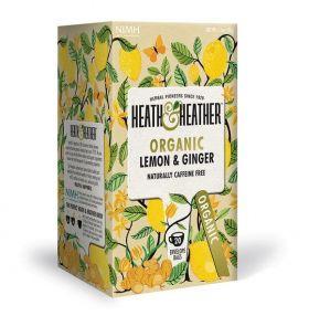 HEATH & HEATHER ORGANIC LEMON & GINGER
