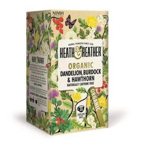 HEATH & HEATHER ORGANIC  DANDELION, BURDCOK AND HAWTH