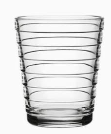 Iittala Aino Aalto vannglass Klar 22cl
