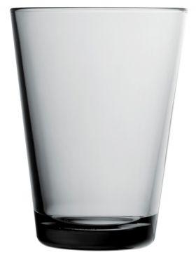 Iittala Kartio vannglass grå 40cl