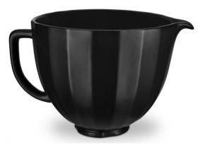 Kitchenaid Artisan bolle keramikk sort 4,7L