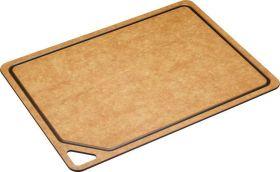 Kitchencraft skjærefjøl i miljøvennlig materiale m/blodrand 44x32,5 cm