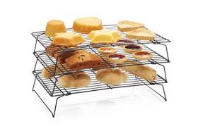 KitchenCraft kake avkjølingsrist 3 etg