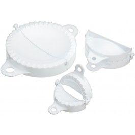 KitchenCraft pasta/dumplingsformer sett m/3 stk