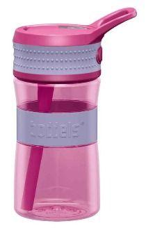 Boddles drikkeflaske 0,4L lavendelblå/rosa
