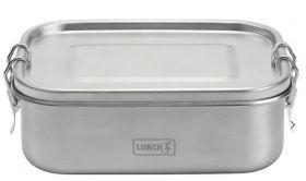 Lurch Lunchbox  Snap rustfritt stål 17x13x6 cm