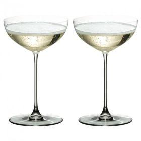 Riedel Veritas Champagneglass Coupe/Cocktail 24 cl 2pk
