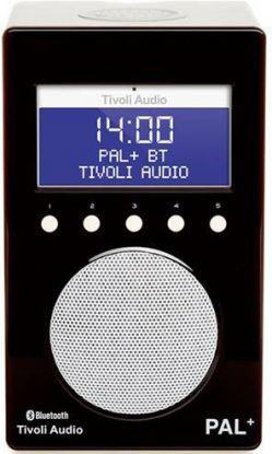 Tivoli Audio Pal + BT radio svart/hvit 9,9x12x20 cm