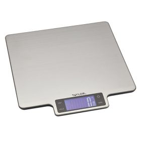 Taylor Pro digital kjøkkenvekt rustfritt stål 10 kg