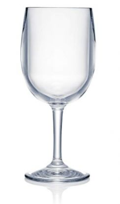 Strahl rødvinsglass plast 384 ml