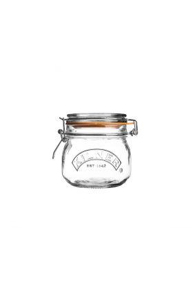 Kilner Glasskrukke m/gummiring 0,5L