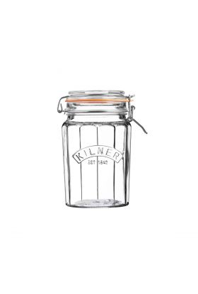 KILNER VINTAGE GLASSKRUKKE M/GUMMIRING 0,95L