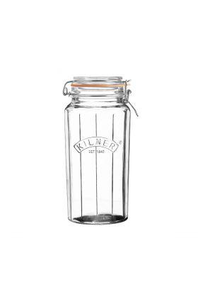 Kilner Vintage Glasskrukke m/gummiring 1,8L