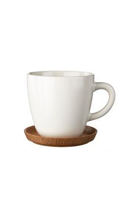 Höganäs kaffekopp hvit 33 cl