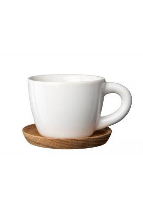 Höganäs espressokopp hvit