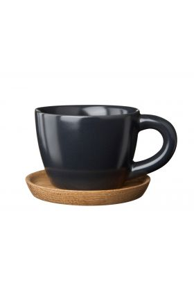 Höganäs espressokopp grafittgrå 10 cl