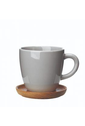 Höganäs kaffekopp Lysegrå 33 cl
