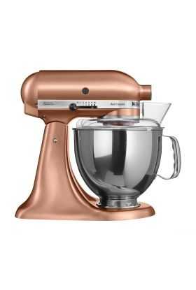 Kitchenaid Artisan kjøkkenmaskin 4,8 L + 3 L satin copper, 300 watt