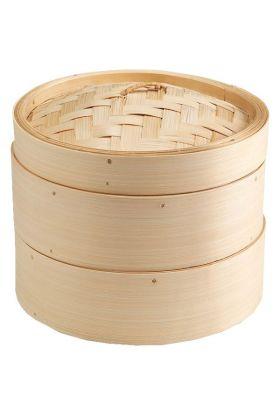 Aanonsen Bambus steamer m/lokk 20cm