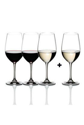 Riedel, Vinum, Riesling/Zinfandel vinglass (4 for 3)