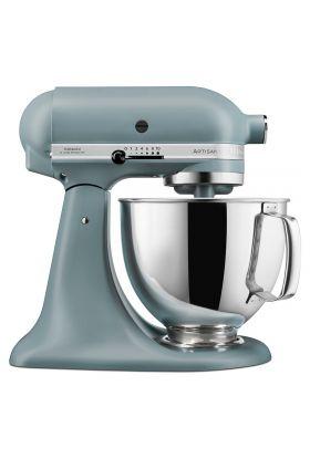 KitchenAid Artisan Kjøkkenmaskin 4,8 L + 3 L Fog Blue , 300 WATT