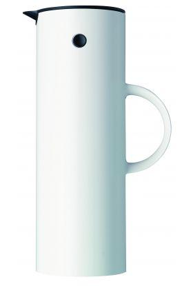 Stelton termokanne hvit 1 L
