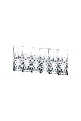 Lyngby Melodia longdrink glass 36 cl 6stk