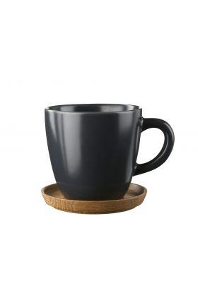Höganäs, kaffekrus m/trefat 33 cl
