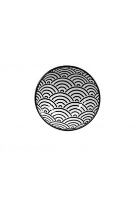 Nippon Black skål 3x9,5 cm