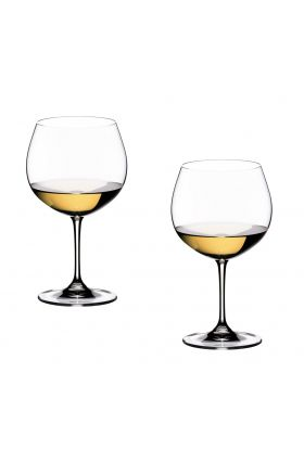 Riedel, Vinum Chardonnay vinglass 2 pk