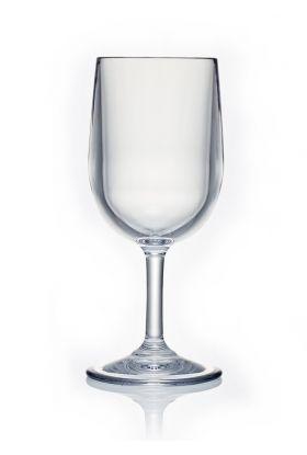 Strahl hvitvinsglass i plast 17,5 cm, 245 ml
